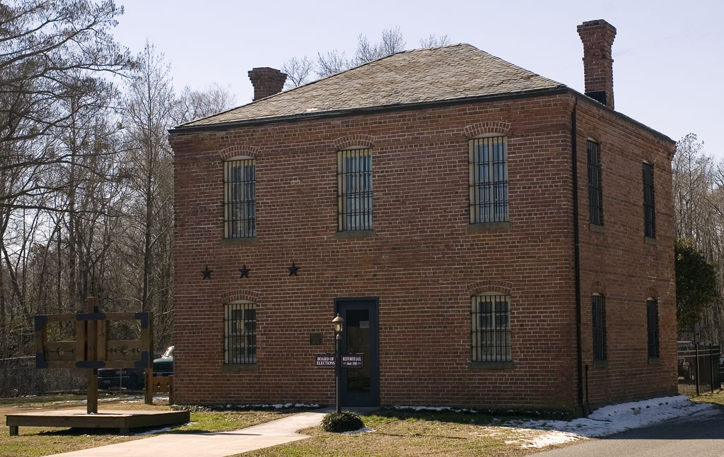 Old Camden Jail Built Early 1800s Restored Early 1900s